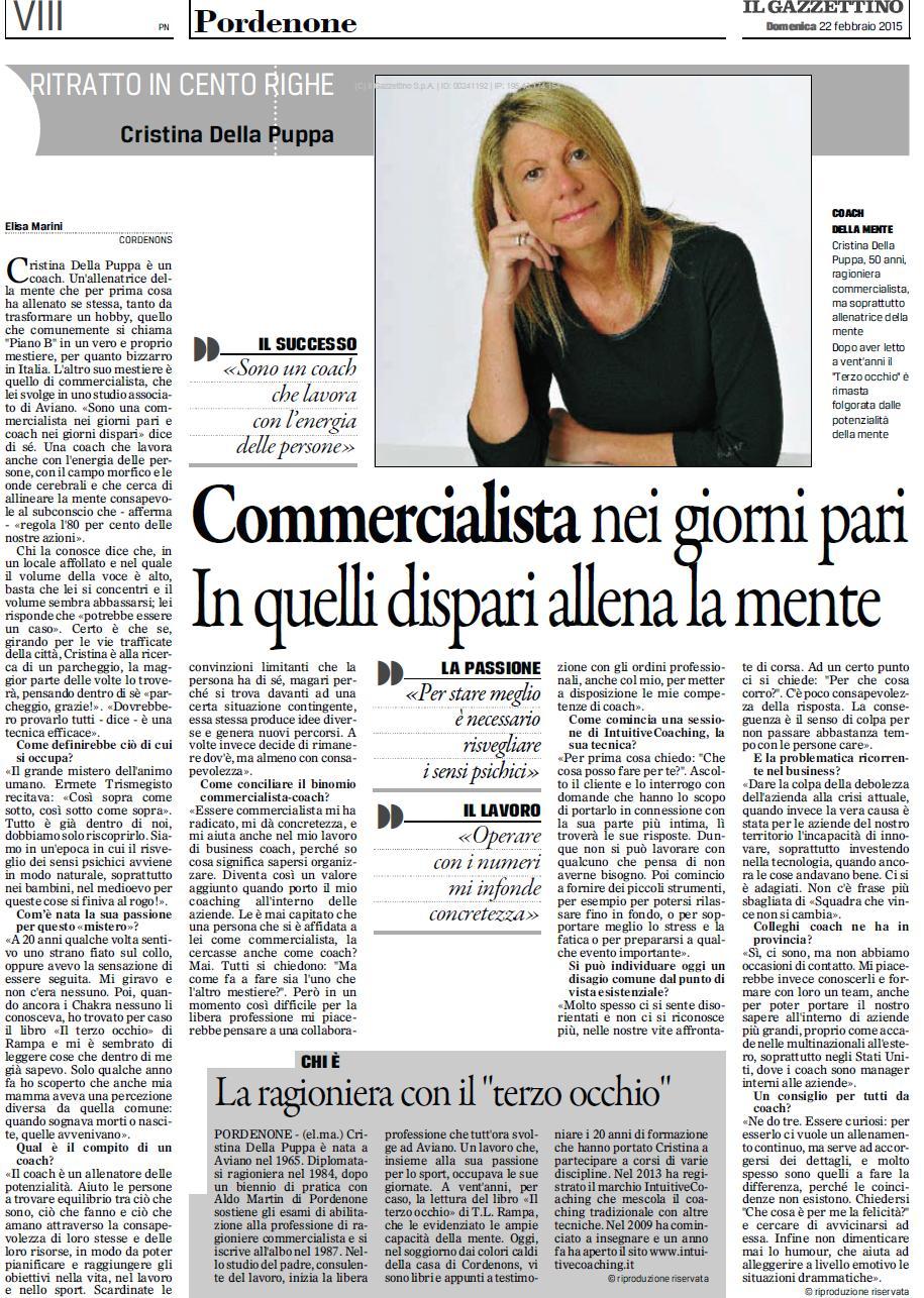 Gazzettino22022015 1 Gazzettino di Pordenone del 22 febbraio 2015